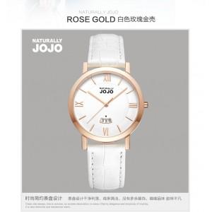 白色玫瑰金錶(ROSE GOLD)