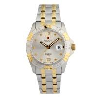 瑞士軍錶50周年紀念鑽錶(白)